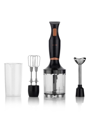 Schafer Kraft Mini Blender Set 9 Prç - Siyah Siyah
